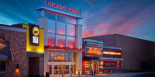 Chicago Ridge Mall ::: Chicago Ridge ::: IL on