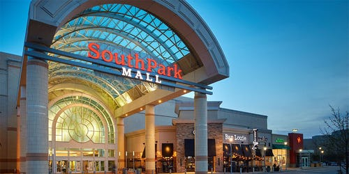 SouthPark Mall ::: Strongsville ::: OH