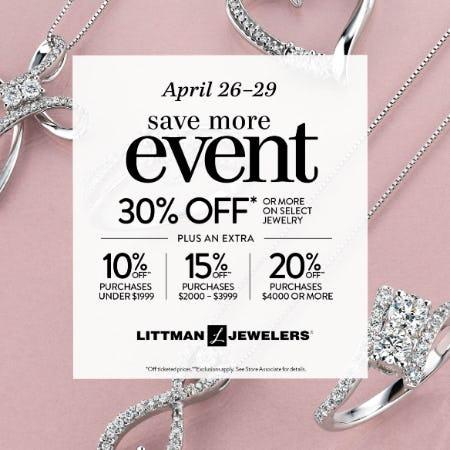 April Save More Event