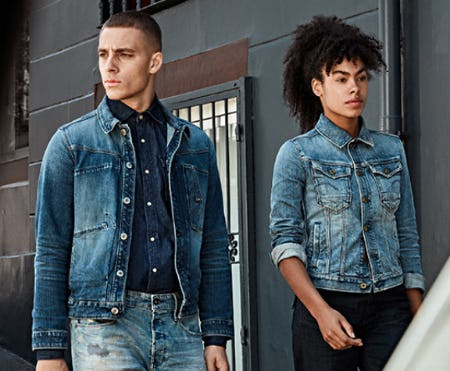 New Denim Styles from G-Star Raw