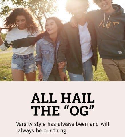 Shop These Varsity-Inspired Styles