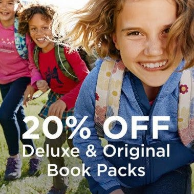 Get 20% OFF Deluxe and Original Book Packs from L.L. Bean