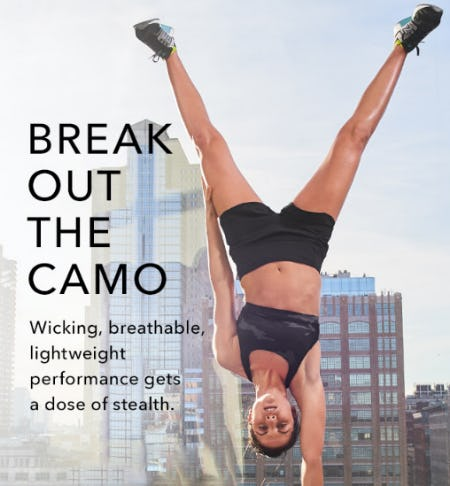 Camo That Moves from Athleta