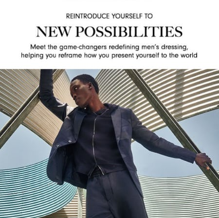 Reintroduce Yourself to New Possibilities from Neiman Marcus