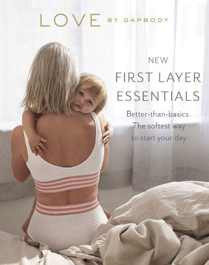 New First Layer Essentials from Gap