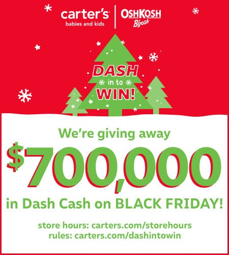 Dash In to Win Sweepstakes*