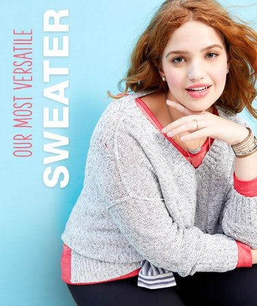 Our Most Versatile Sweater from maurices