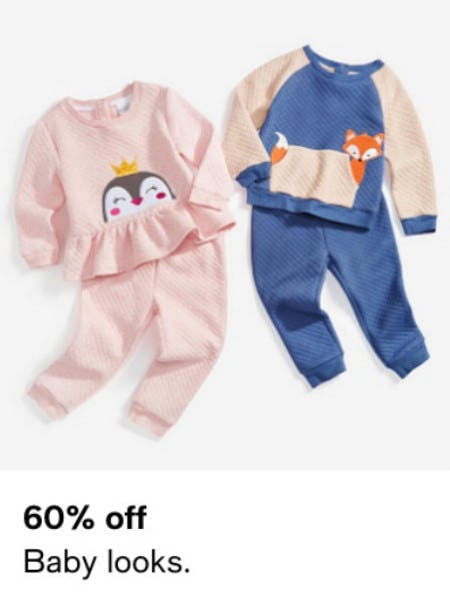60% Off Baby Looks from macy's