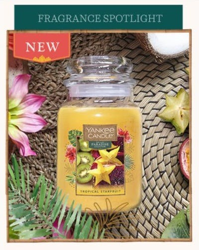 Fragrance Spotlight: Tropical Starfruit from Yankee Candle