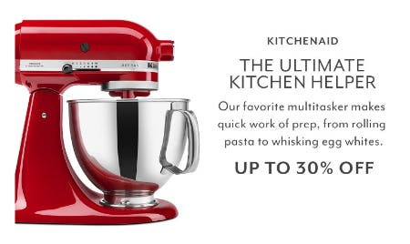 Up to 30% Off Kitchenaid from Sur La Table
