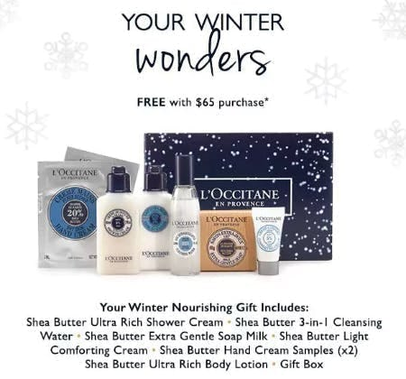 Free Winter Wonders Gift With Purchase