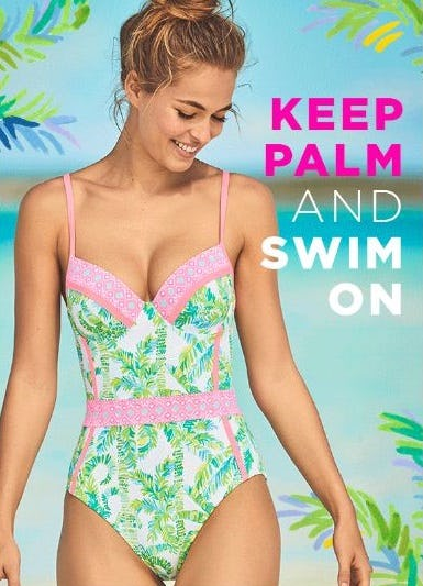 New Swim Styles from Lilly Pulitzer