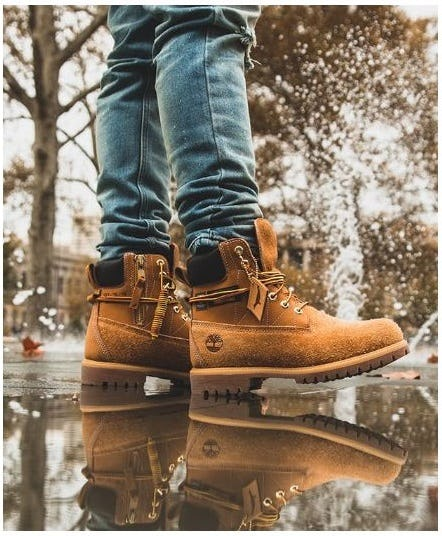 Staple x Timberland Boots