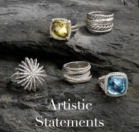 Fall's Finest Statement Rings from David Yurman
