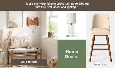 Up to 25% Off Home Deals from Target