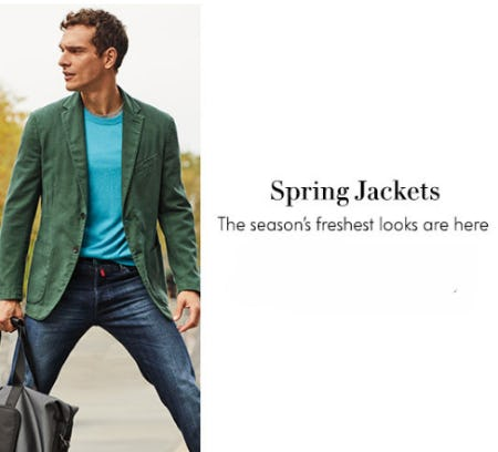 Spring Jackets from Neiman Marcus