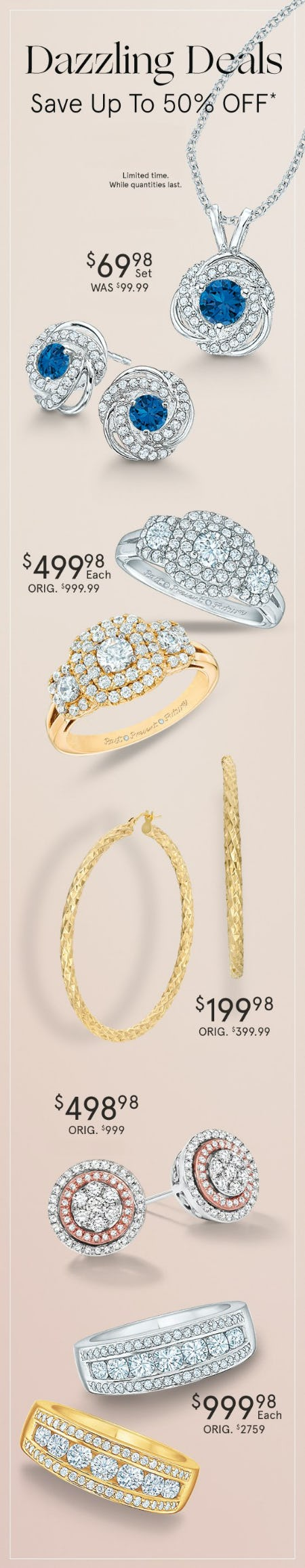 Dazzling Deals up to 50% Off from Zales The Diamond Store