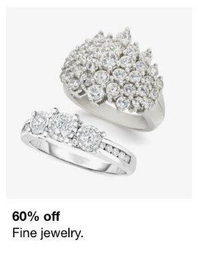 60% Off Fine Jewelry from macy's