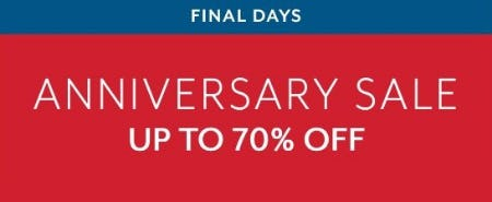 Anniversary Sale up to 70% Off from Sur La Table