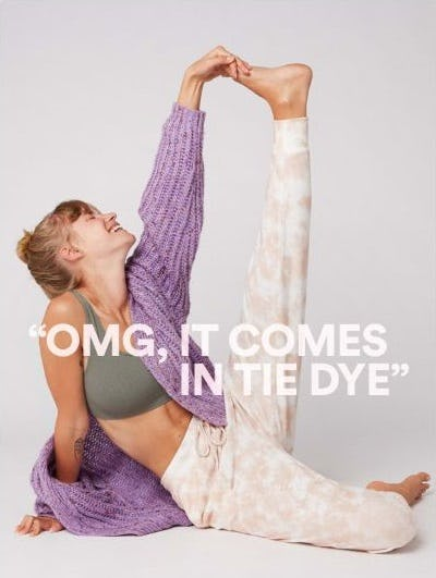 Our Famously Soft Loungewear in Tie Die from Cotton On