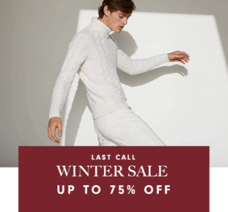 Up to 75% Off Winter Sale from Neiman Marcus