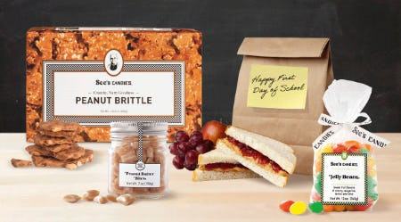 Best Bites for Back to School from See's Candies