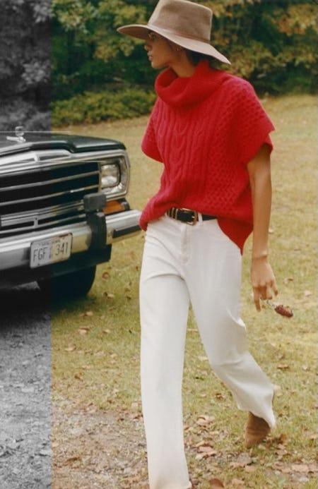 In-Between Sweaters for In-Between Weather from Anthropologie