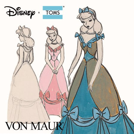 Disney X TOMS Gift With Purchase from Von Maur