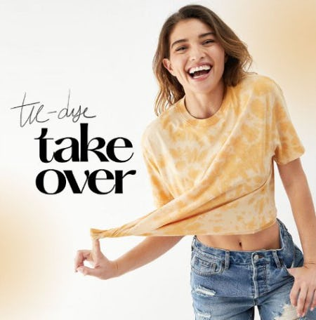 Tie-Dye Take Over from PacSun