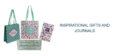 Inspirational Gifts and Journals