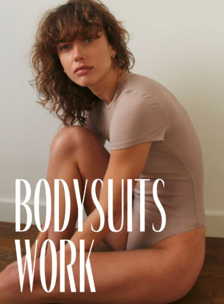 Bodysuits with Impressive Resumes from Aritzia