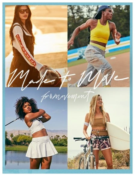 FP Movement Presents: Made To Move from Free People