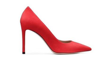New Pumps: Fit for Royalty from STUART WEITZMAN