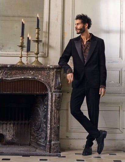 How to Rock the Tuxedo from Scotch & Soda