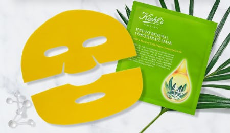 Oil-Infused Sheet Mask from Kiehl's