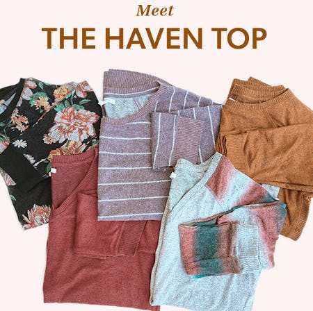 Meet the Haven Top from maurices
