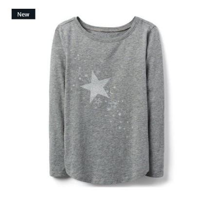 Sparkle Star Tee from Crazy 8