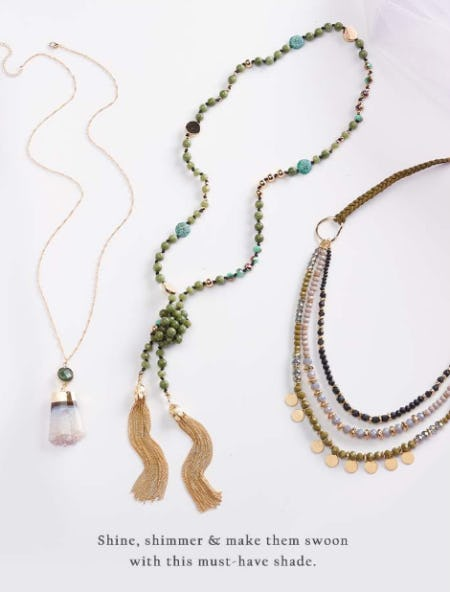 The Green Fashion Jewelry