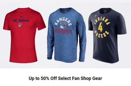 Up to 50% Off Select Fan Shop Gear from Dick's Sporting Goods