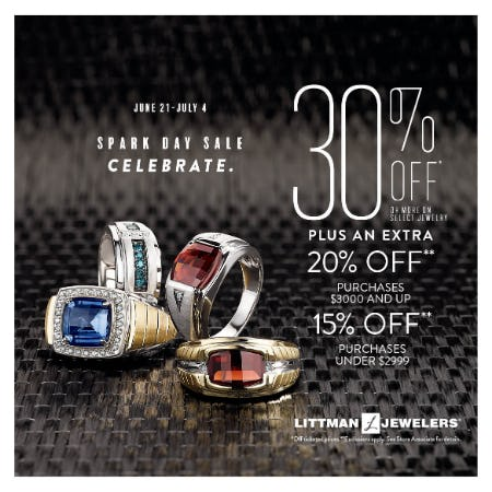 Spark Day Sale from Littman Jewelers