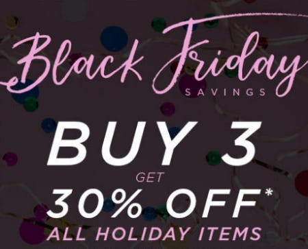 Black Friday Savings from PAPYRUS