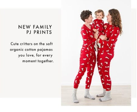 New Family PJ Prints Are Here from Hanna Andersson