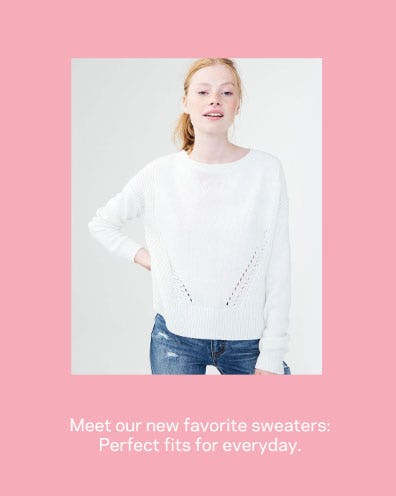 Shop New Sweaters from Aéropostale