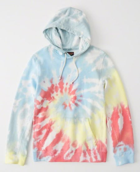 Tie-Dye Pride Hoodie from Abercrombie & Fitch