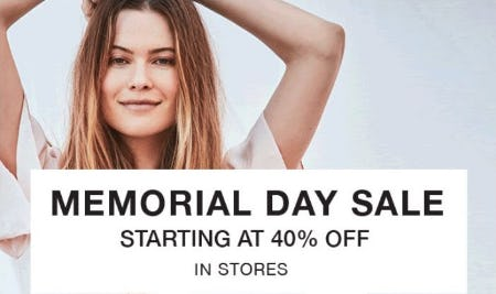 Memorial Day Sale Starting at 40% Off from 7 for All Mankind