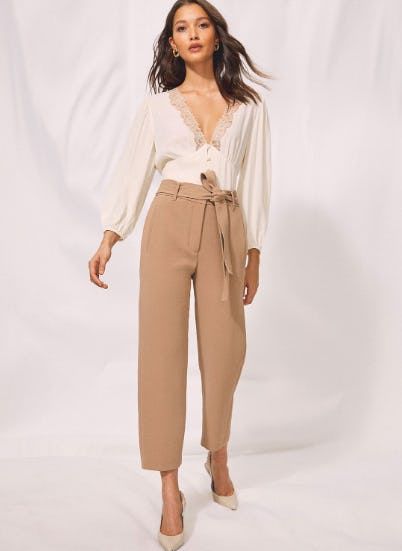 The New Tie-Front Pant from Aritzia