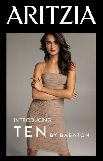 Introducing Ten by Babaton from Aritzia