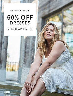 50% Off Dresses from Torrid