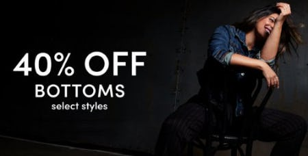 40% Off Bottoms from Torrid