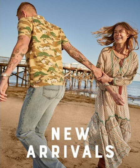 Head to the Beach with New Arrivals from Lucky Brand Jeans